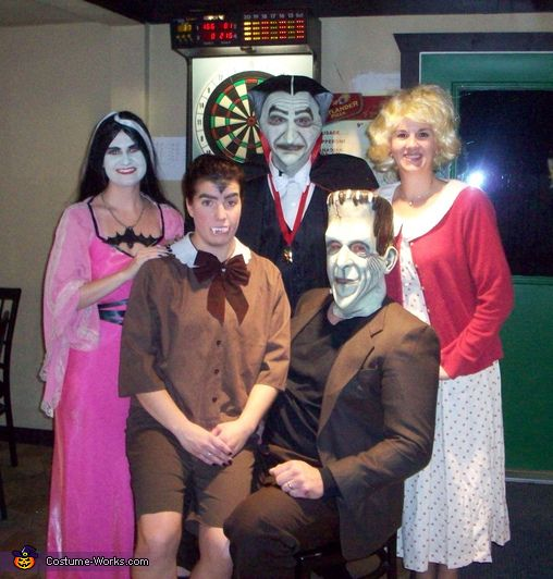 The Munsters Family homemade costume ideas