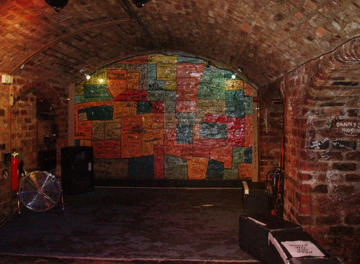 The Cavern Club, Liverpool, England as it looks today.