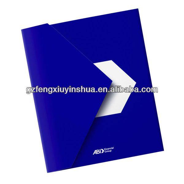 die cut paper folder $0.01~$0.015