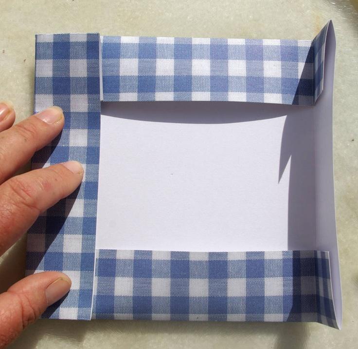 paper frame diy