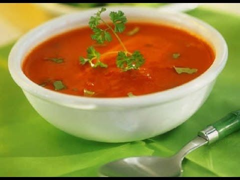 Recipe - Tomato Soup (हिंदी) - YouTube