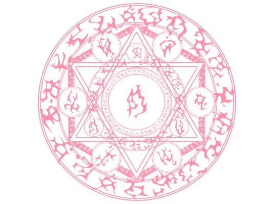 七芒星の魔法陣