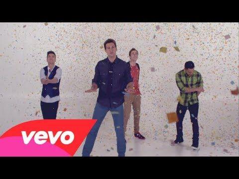 Big Time Rush - Confetti Falling  Love this video!