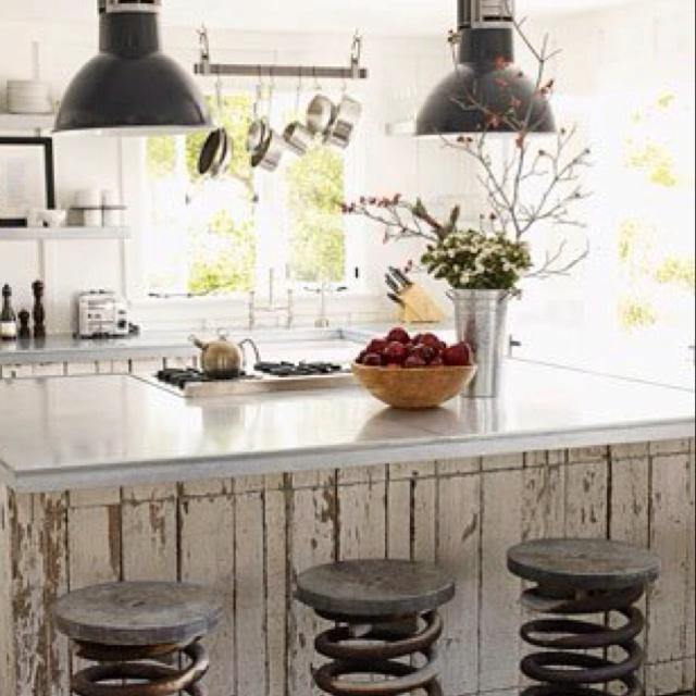 Farm Kitchen Kitchen Pinterest Tractor Seats