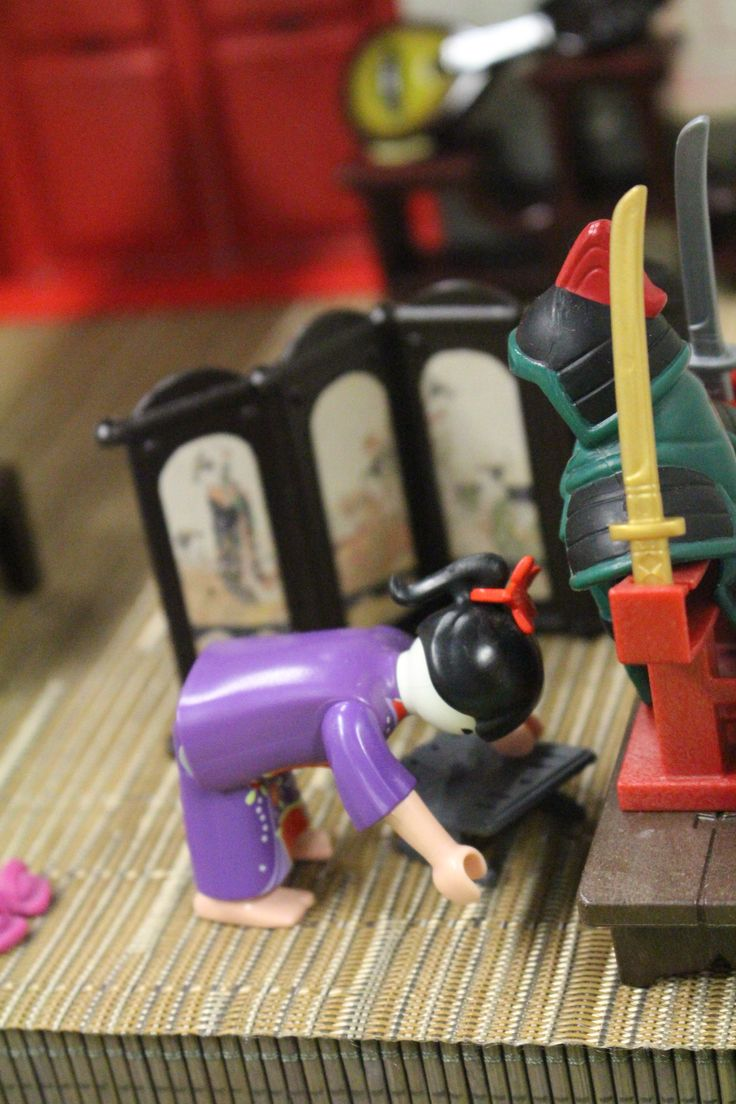 """Diorama """"Mulan"""" réalisé avec ma fille Alizée lors de l'exposition Playmobil de Saint-Cyr-En-Val en janvier 2015 - Alizobil & Chocobil"""