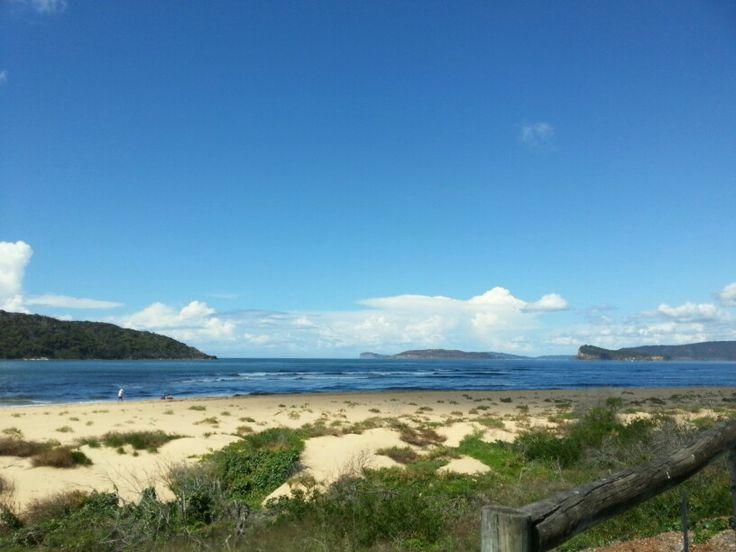 The heads of Broken Bay NSW