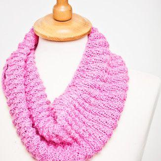Julegavestrikk strikkeoppskrift strikke hals