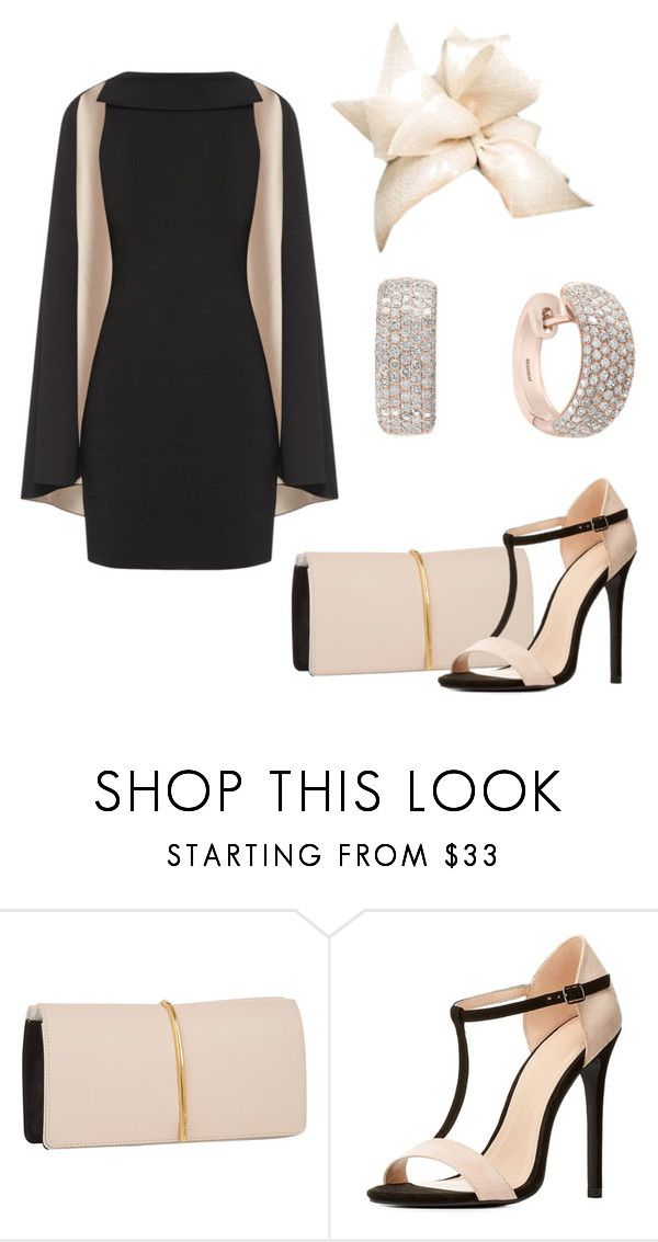 """""""Outfit 123"""" by vintage-royal ❤ liked on Polyvore featuring Nina Ricci, Charlotte Russe, Rachel Trevor-Morgan and Effy Jewelry"""
