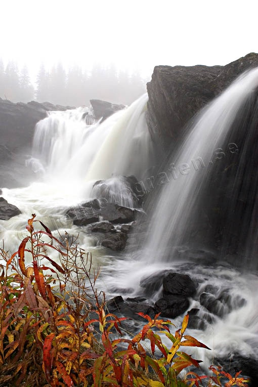 *Ristafallet, Rista Fall - Sweden (Touch of Color)