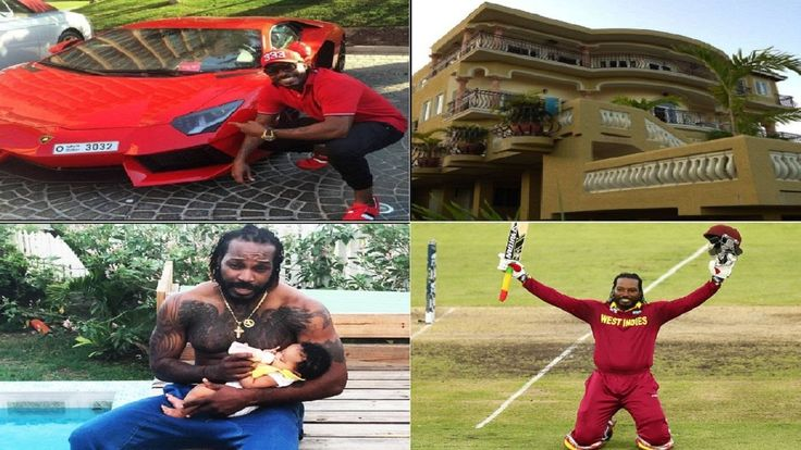 Chris Gayle's Biography  Net worth  Family  Records  House  Cars -  2016.  Full Name : Christopher Henry Gayle Born : 21-09-1979 Kingston Jamaica Current Age : 37 years old Major Teams : West Indies ICC World XI Royal Challengers Bangalore Kolkata Knight Riders Batting Style: Left-hand bat Bowling Style :Off-break  Chris Gayle (Full name Christopher Henry Gayle) is a famous cricketer of West Indies Cricket Team.Chris Gayle was born on September 21 1979 in kingston Jamaica. He Raised up in…