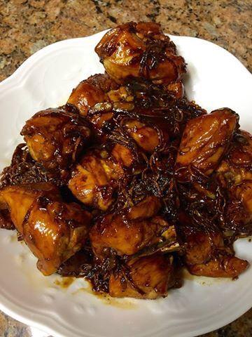 Ayam Goreng Mentega My homemade