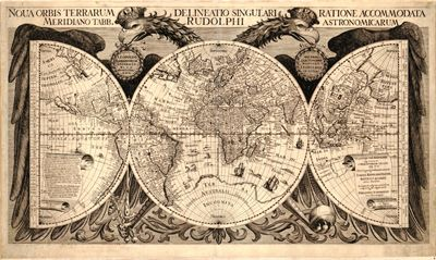 Vintage map. This would make a really cool tattoo