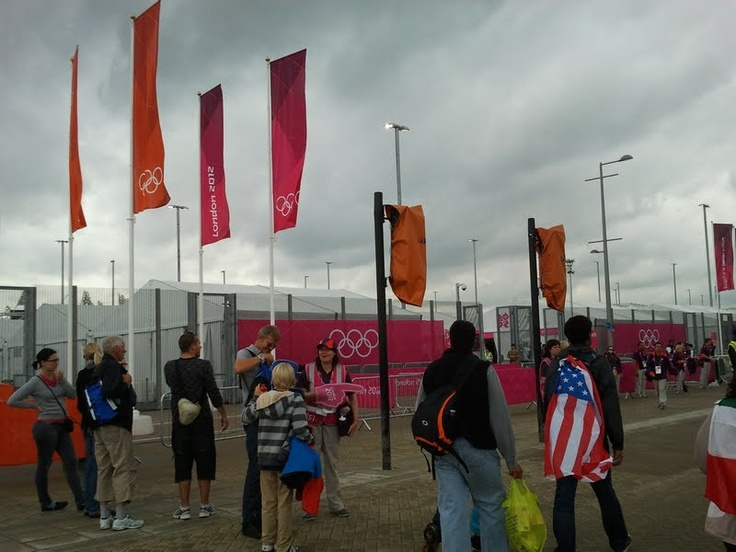 London2012Iwasthere going to the security check