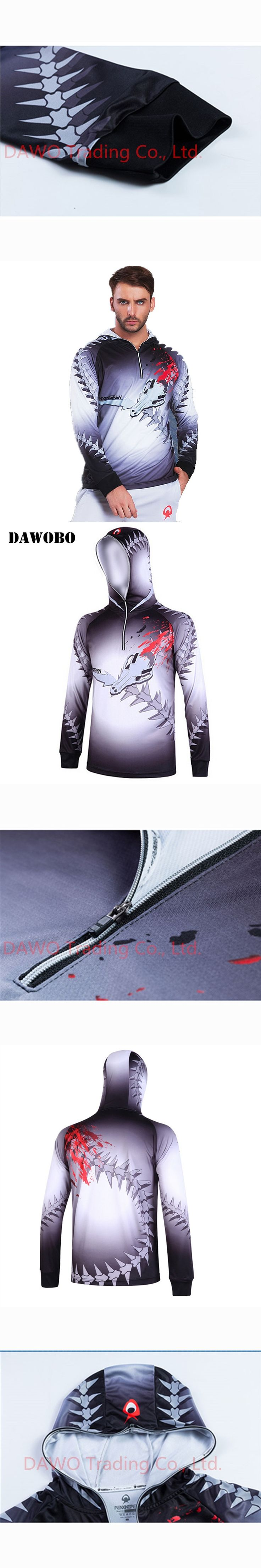 2017 Summer style Men/Women Autumn outdoor wear fishing suit men's breathable sunscreen UV anti-wrinkle hooded fishing shirt