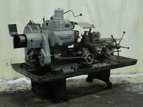 Another: WARNER & SWASEY NO. 4 TURRET LATHE