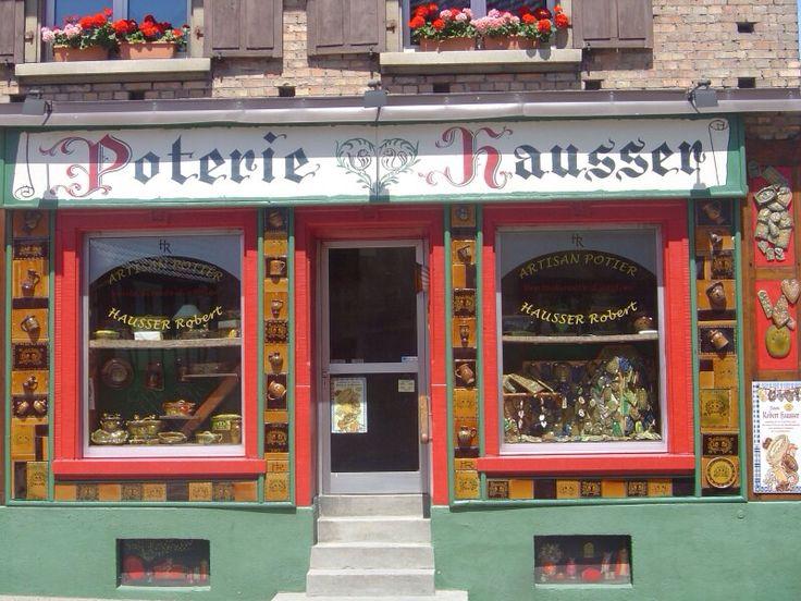 Poterie alsacienne Hausser ( boutique )