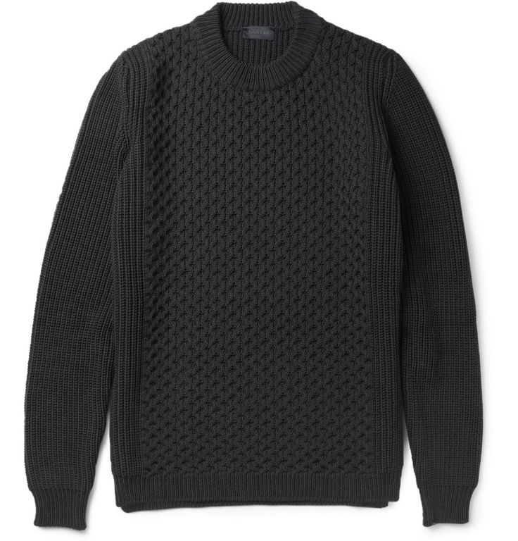 Lanvin Knitted Wool Sweater - $750.00