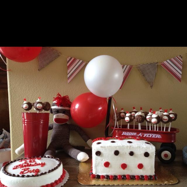 Sock Monkey Cake Pops: Bday Ideas, Cute Ideas, Sock Monkey Cakes, Monkey Cakes Pop, Parties Ideas, Monkey Cake Pops, Socks Monkey Cakes, Ideas Bday Food Snacks Decor, Birthday Ideas
