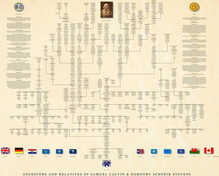 Ancestor Pedigree Chart | Professional Genealogy Charts & Family Trees | Genealogy Researchers