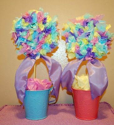 Easter Tissue Paper Topiaries...Crafts Ideas, Easter Crafts, Easter Tissue, Parties Ideas, Tissue Paper, Paper Topiaries, Crafty Ideas, Birthday Ideas, Easter Ideas