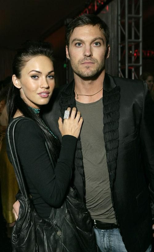 Megan and husband Brian Austin Green