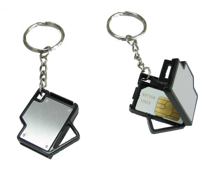 key chain with sim card holder  collection  pinterest