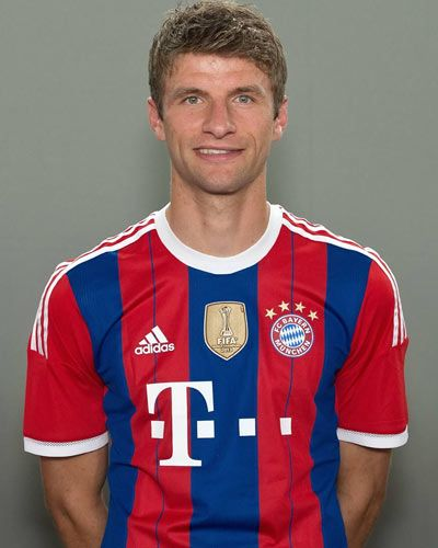 Thomas Müller - FC Bayern München --- http://www.marco-reus-trikot.de/thomas-muller-deutschland-trikot/ --- #Trikot  #Fussball #Soccer #Bundesliga #FCB