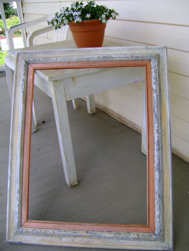 Antique picture frame *Created by: Rachel's Original Gifts*