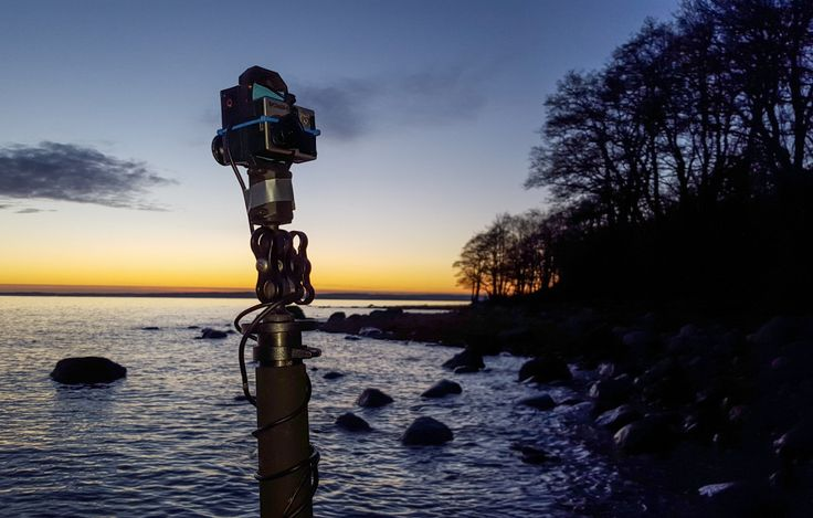 2cam rig in the sunset