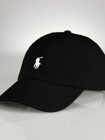 Chino Baseball Cap - Hats, Gloves, & Scarves   Women - RalphLauren.com
