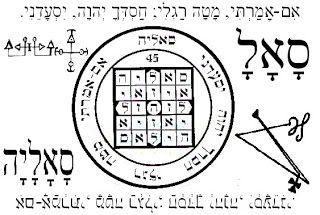 Elohim: סָאָלָ (Samec Lamed Alef) Angel nº 45 del 30 de octubre hasta el 4 de noviembre