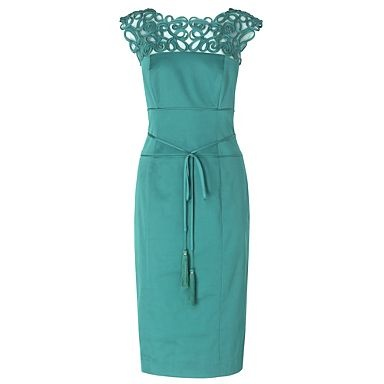 turquoise mother of bride dress