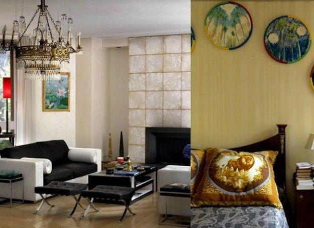 INterni della villa di Santo Versace