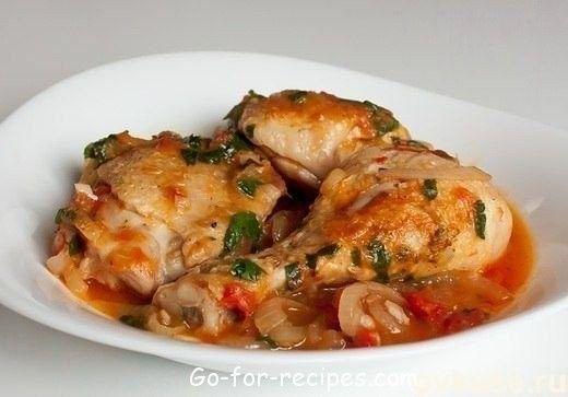 The chicken stew.