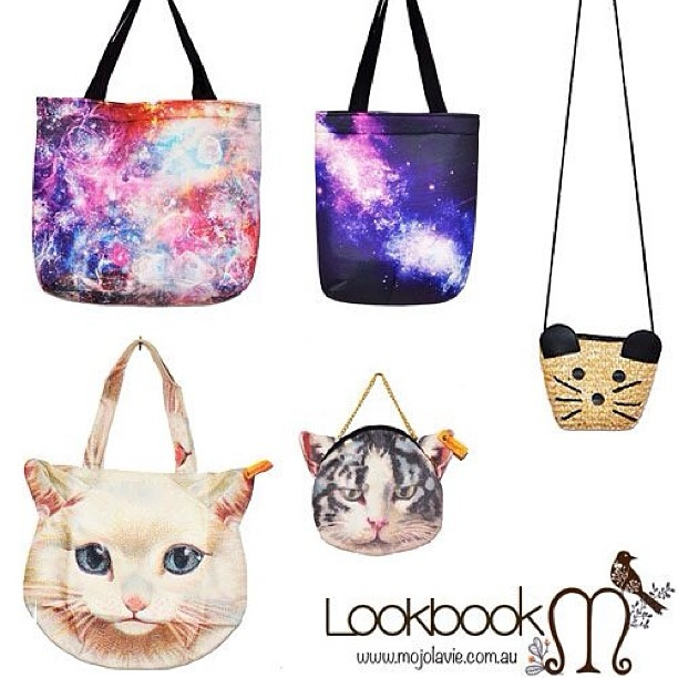 Check out these shopper bags in mojolavie.com.au