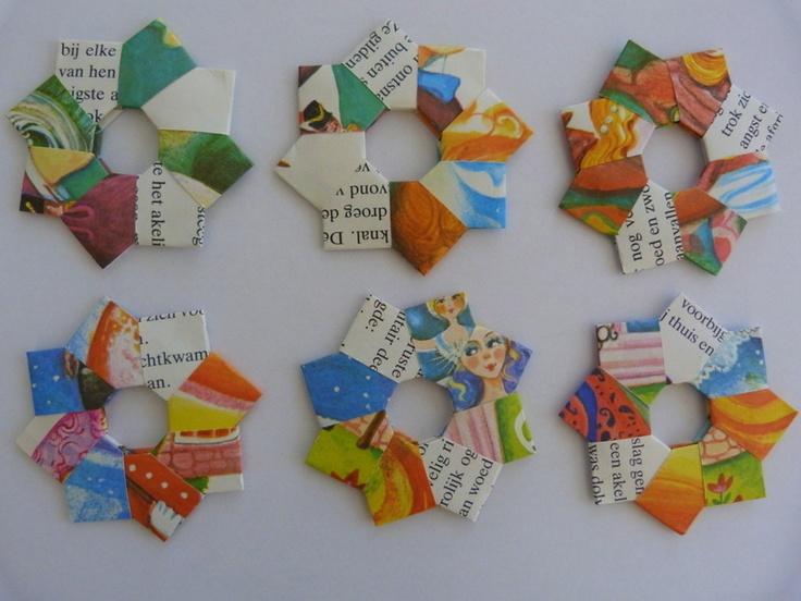 Papieren sterren