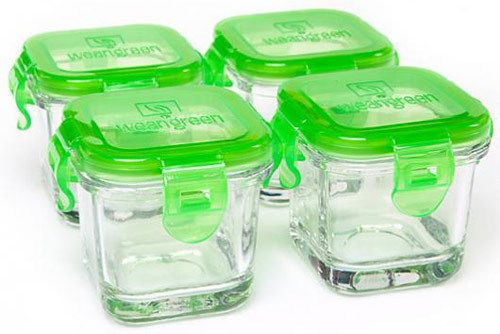 Storing Homemade Baby Food In Mason Jars