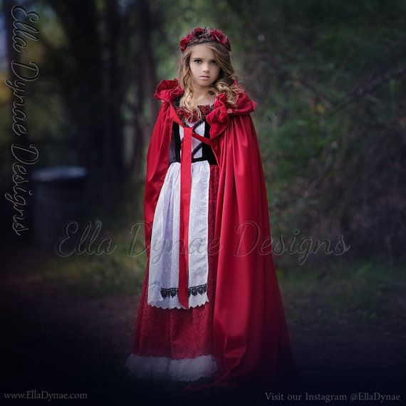 Little Red Riding Hood kostuum prinses boer Dress