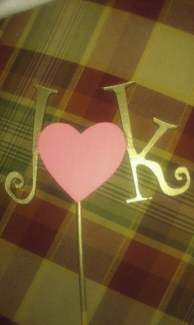 Diy Wedding Cake Topper Hobby Lobby Letters Snd Craft