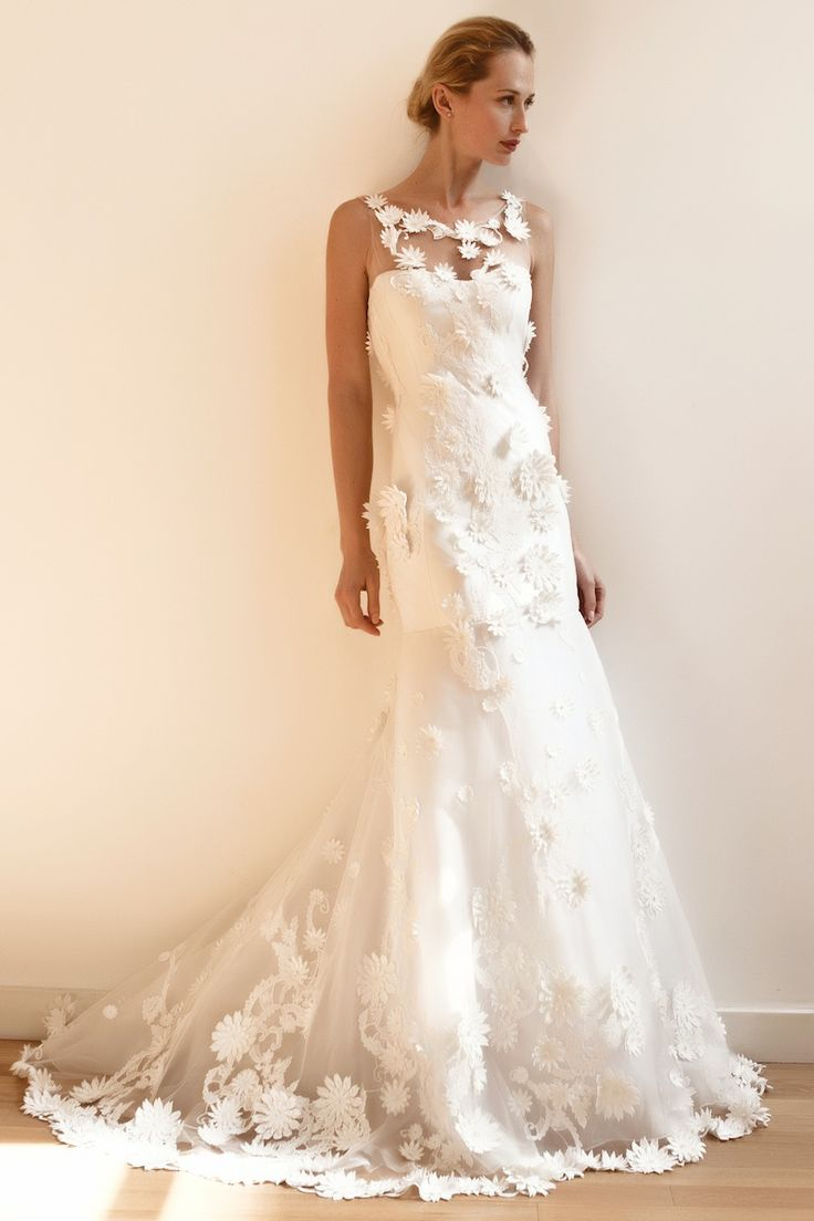 110 best classy wedding dresses images on pinterest wedding francesca miranda bateau mermaid wedding dress with no waistprincess seams in other ombrellifo Image collections