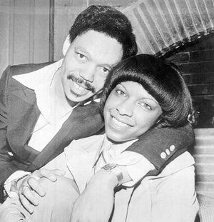 Natalie Cole with her former husband, record producer Marvin Yancy.