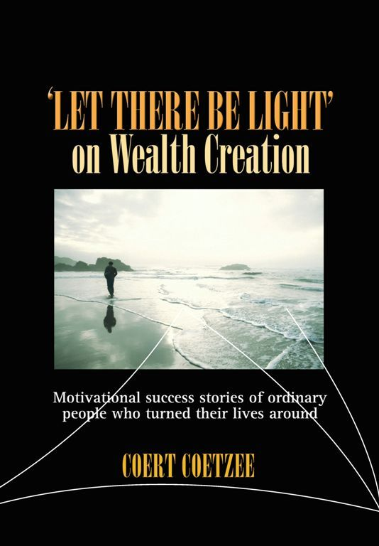 In this book you will become acquainted with some of Coert's students, his methods and his philosophies. People who say they are serious about wealth creation or providing for their retirement, but do not know Coert's methods, cannot truly be serious.  Coert's methods are known as the Treoc Way. The Treoc Way is currently changing the face of property in South Africa, permanently. You can read more about this on his website: www.treoc. com.