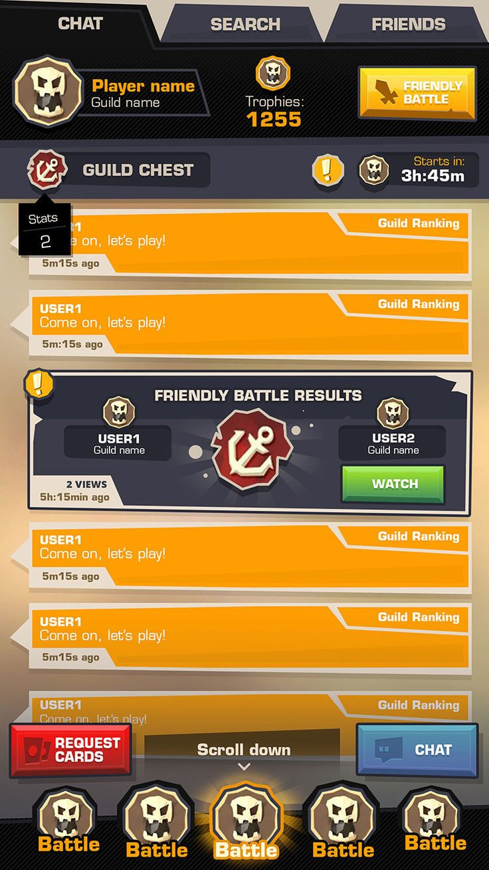 ArtStation – Punchev[dot]com – Mobile Game UI , Punchev .com – Game Production