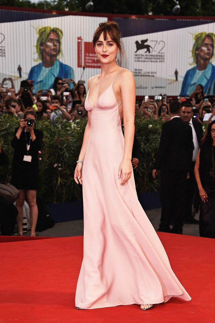 Dakota Johnson in Prada at the Black Mass Pemiere.  #prada #fashion