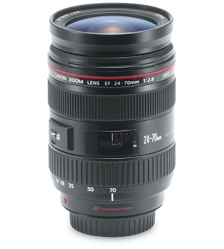 Amazon.com: Canon EF 24-70mm f/2.8L USM Standard Zoom Lens for Canon SLR Cameras: Camera & Photo.. K's choice! for once I get reech