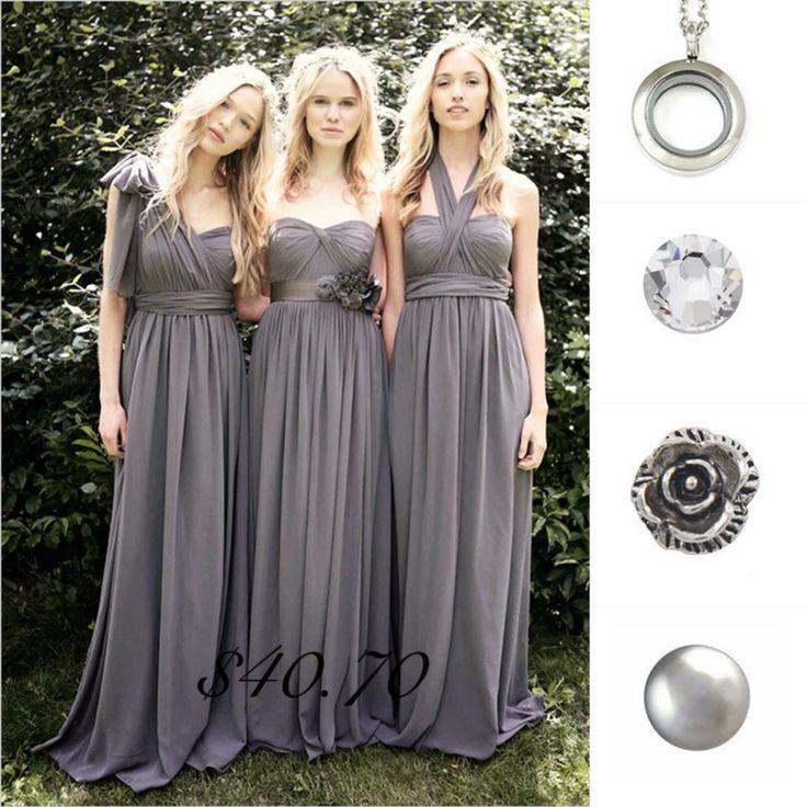 Grey themed lockets.