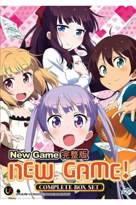New Game TV Series Vol.1-12End Anime DVD