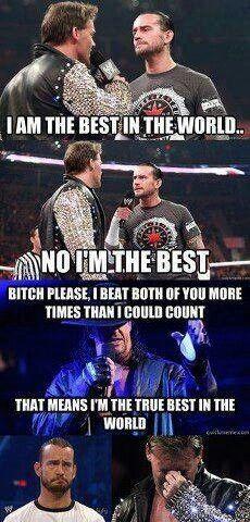 WWE humor