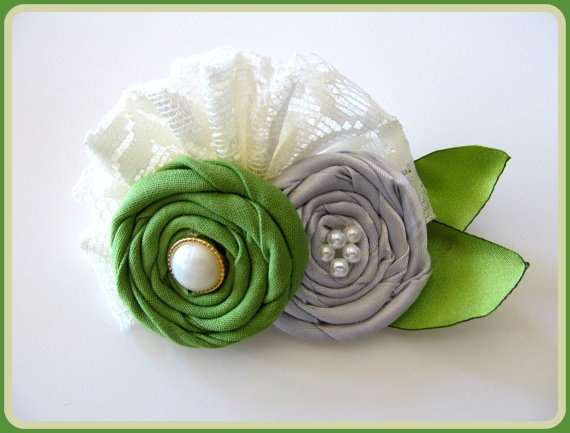 Sweet Tea Hair Clip or Headband M2M by AppelillysGoodies on Etsy, $10.00