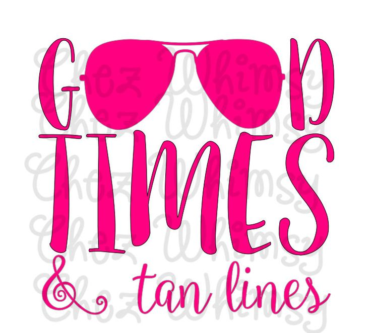 Beach SVG Good Times and Tan Lines SVG Summer Time Cut File Beach Cover Up SVG for Cricut Silhouette Cutters Digital Files for Cutting Htv by ChezWhimsy on Etsy